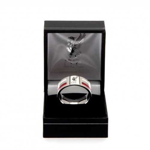 Liverpool FC Colour Stripe Ring (Large) | LFC Merchandise | Gifts Shop