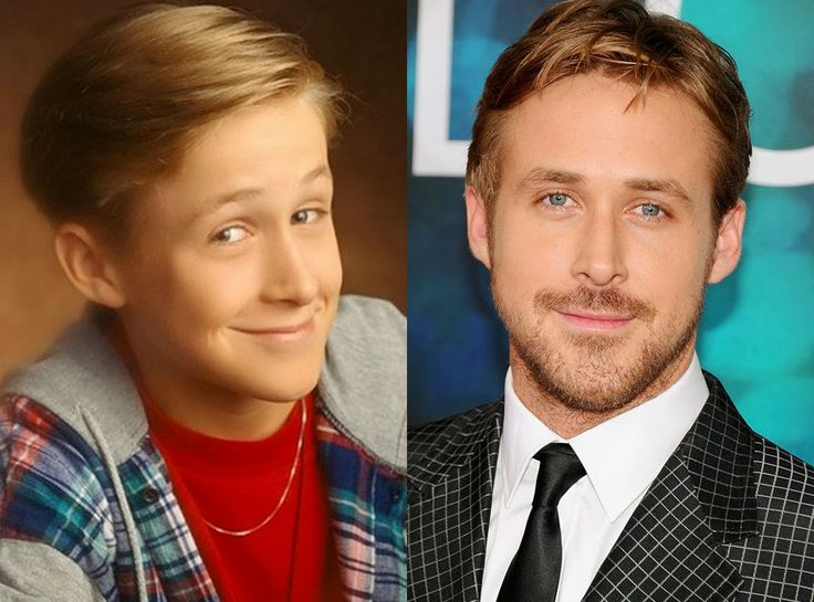 Miss Trend She: grown up gorgeous: child stars, then and now Ryan Gosling