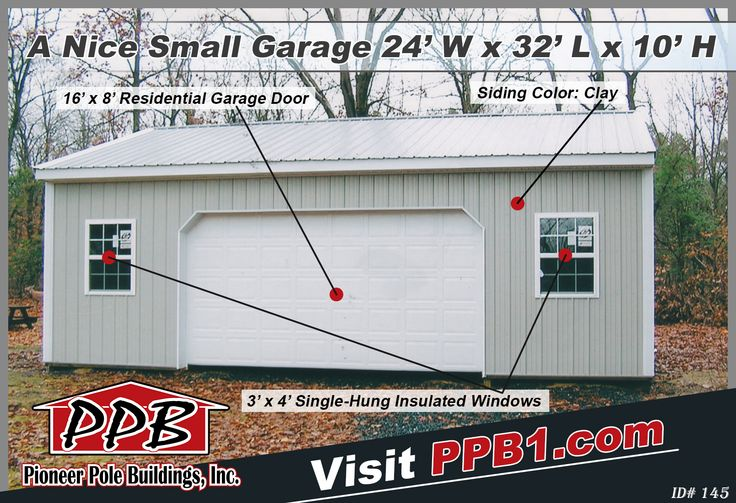 298 best images about garages on pinterest residential for 10 x 9 garage door price