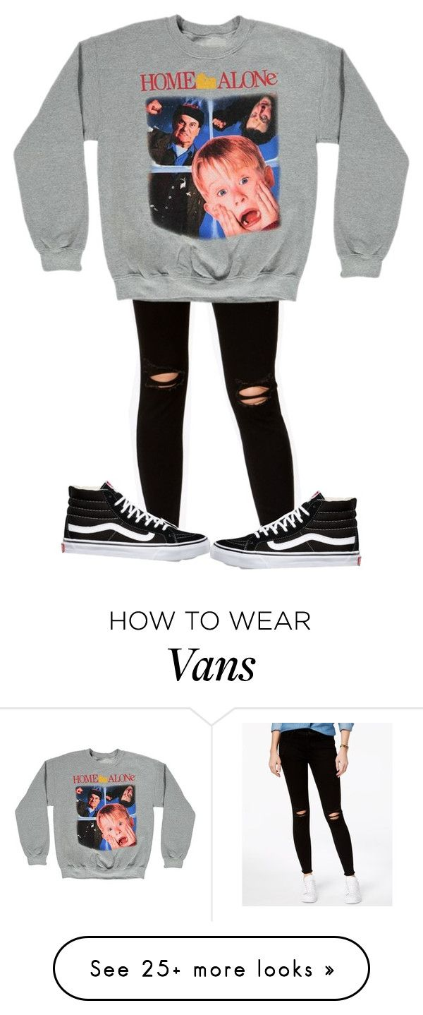 """home alone "" by sydthekyd01 on Polyvore featuring Rewash, Forever 21 and Vans"