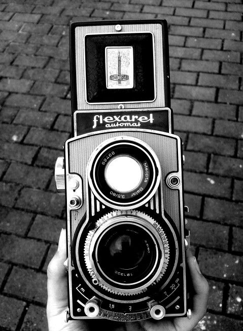 Flexaret VII.1969.Made in Czechoslovakia. Retro style :)