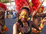 Barranquilla carnival dancers