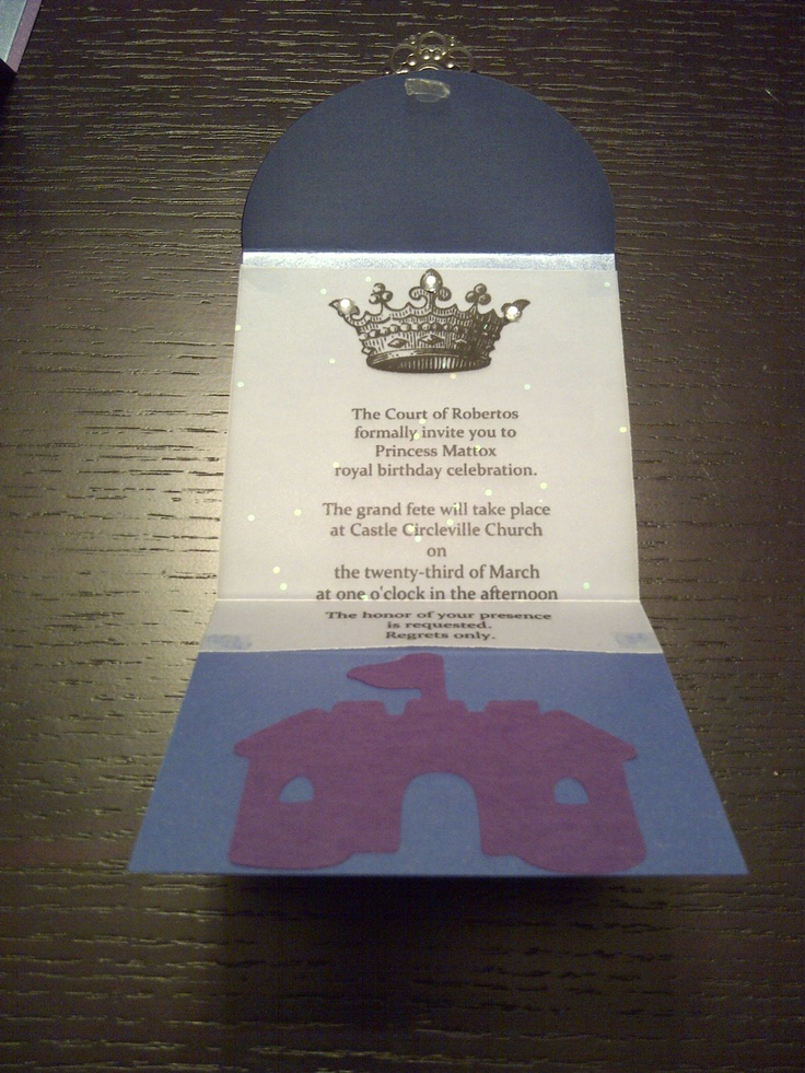 royal ball invitation sample of inside 2013 creations pinterest invitations and royals. Black Bedroom Furniture Sets. Home Design Ideas