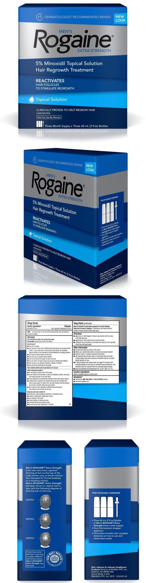 Hair Loss Treatments: Rogaine Men S Extra Strength Solution 3-Mo Hair Regrowth Treatment Follicle Chop -> BUY IT NOW ONLY: $40.99 on eBay!