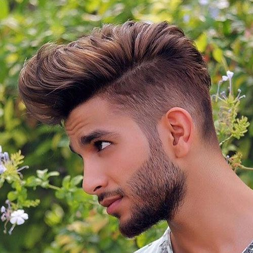 Taper Fade + Textured Thick Comb Over http://www.99wtf.net/men/style-medium-length-hairstyles-men/