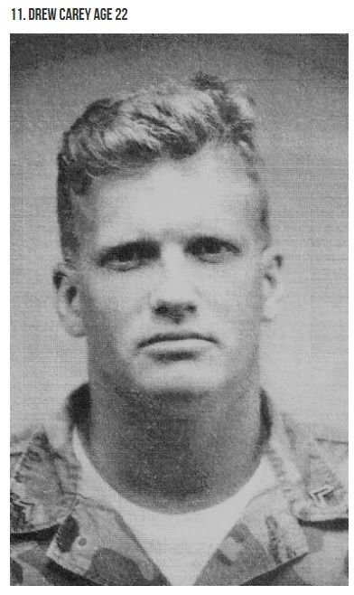 Drew Carey when he was a Marine