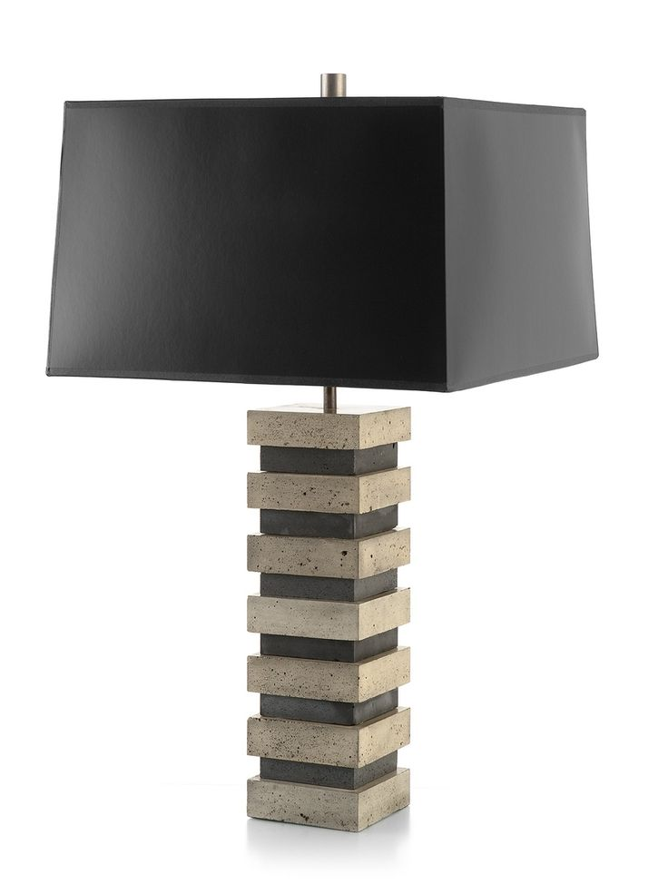 78 best lighting images on pinterest lamps table lamps and custom made blockhouse table lamp aloadofball Choice Image