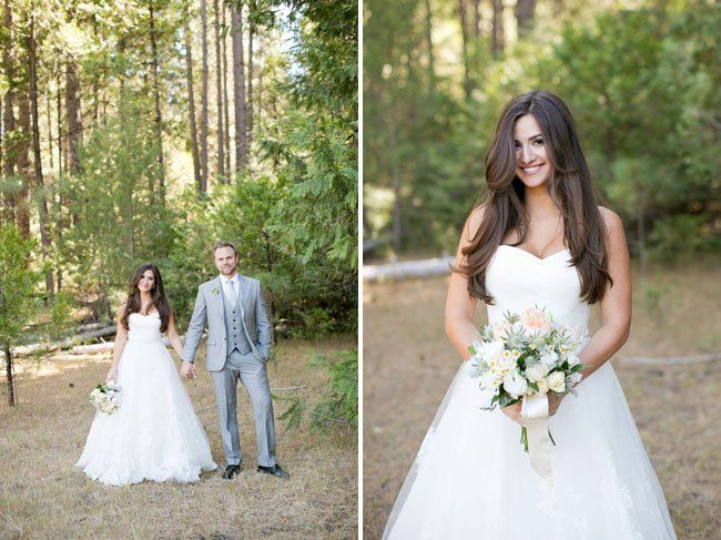 Sweet Yosemite Wedding Noel John Wedding Weddings And Makeup - Wedding hairstyle straight
