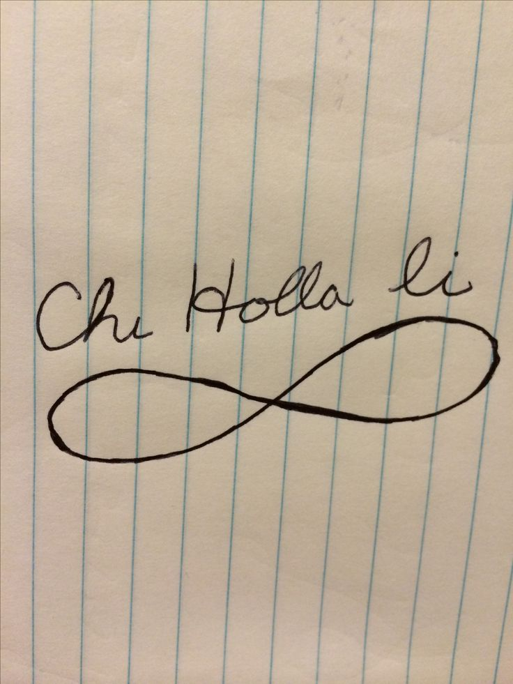 Want this tattooed on me. ''Chi holla li'' means I love you in Choctaw.