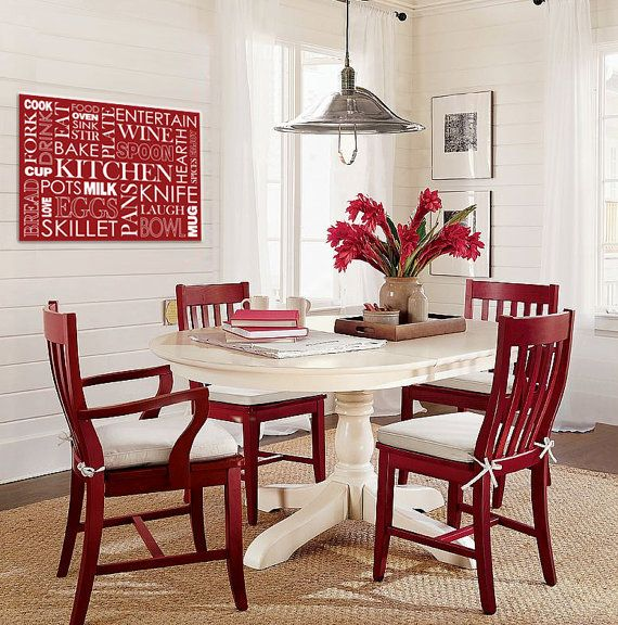 Love A Pedestal Dining Table White Red Chairs For Kitchen