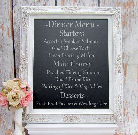 """DECORATIVE FRAMED CHALKBOARD Wedding Decor Signs Magnetic Furniture -AnY CoLoR- French Provincial Country 31""""x 27"""" Kitchen Memo Menu Board on Etsy, $159.00"""