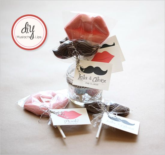 Do It Yourself Wedding Gift Tags : ... It Yourself Mustache And Muah Wedding, Do it yourself and Favor tags