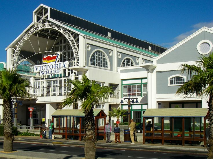 Victoria Wharf Mall in Cape Town South Africa. Beautiful