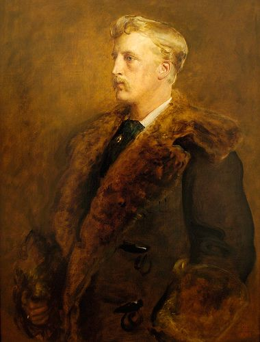 John Everett Millais (1829–1896) - CAMPBELL, JOHN GEORGE EDWARD HENRY DOUGLAS SUTHERLAND, Marquess of LORNE & 9th Duke of ARGYLL (1845 - 1914), governor general & author, eldest son of George Douglas Campbell, Marquess of Lorne, & Lady Elizabeth Georgiana Sutherland-Leveson-Gower; Married 21 March 1871, in Windsor, England to Louise Caroline Alberta, Duchess of Saxony, daughter of Queen Victoria & Albert, Prince Consort; they had no issue