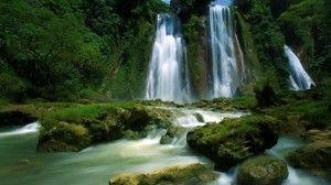 Curug Cikaso Waterfall, Jawa Barat, Indonesia