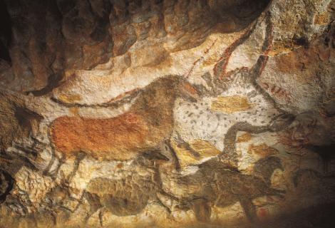 La grotte de Lascaux II at Montignac, Dordogne. Aug '15.