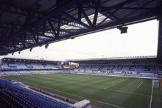 Highfield Road. Formerly home to Coventry City FC.  This was the first football stadium in the UK to be all seated.