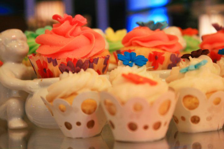 Cupcakes lend towards a fun way to add colour to any occasion.
