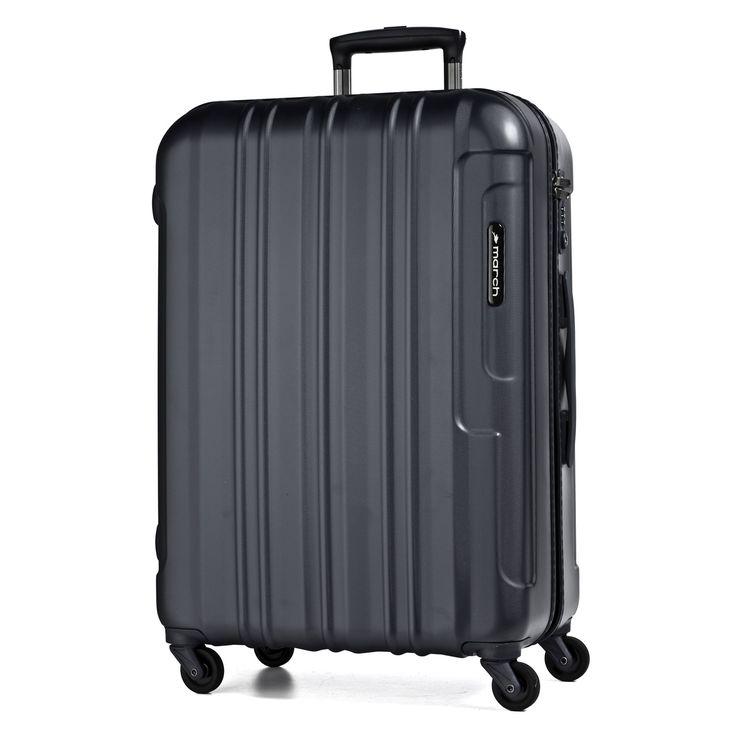 Großer #Koffer March15 Cosmopolitan  bei Koffermarkt: ✓leicht ✓Polycarbonat-Hartschale ✓4 Rollen ✓schwarz  ⇒Jetzt kaufen