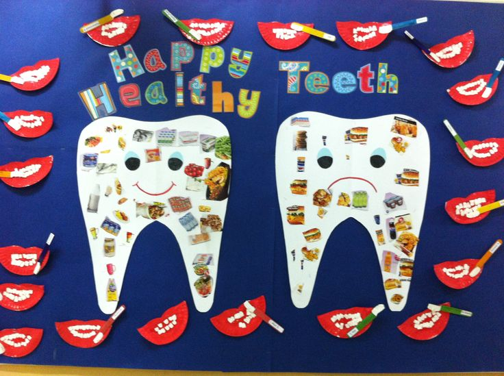 Teeth Bulletin Board My Creations Health Bulletin
