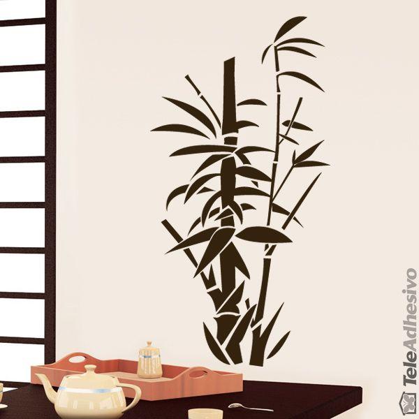 Stickers muraux bamboo