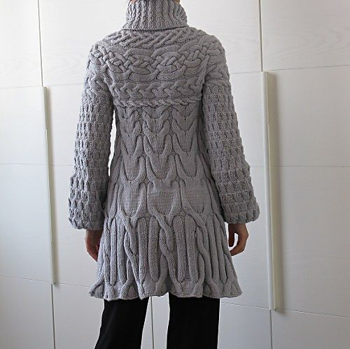 Minimissimi Sweater Coat pattern by Cristina Ghirlanda Knit Wit Pinterest