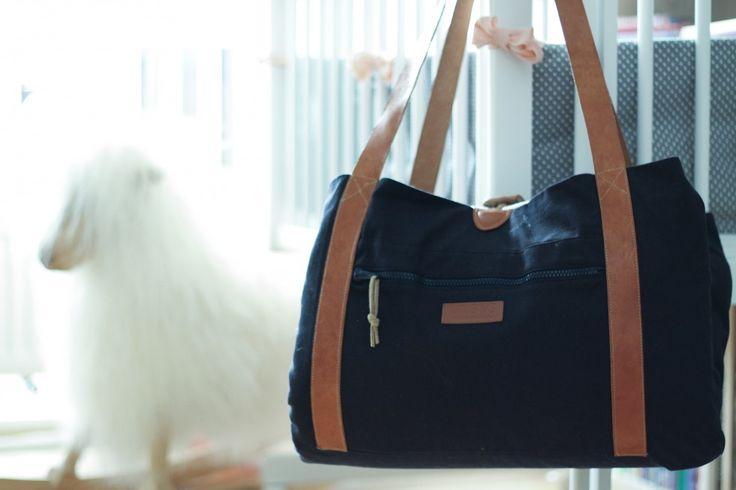 Den berømte hospitalstaske er pakket og klar til afgang.