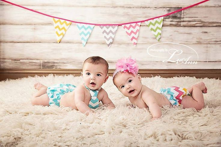 Crazy about Chevron pennant banner