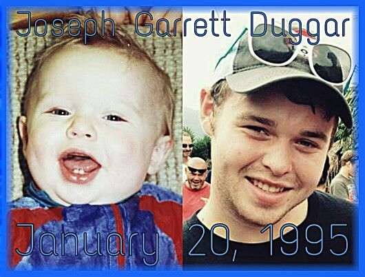 Joseph Garrett Duggar  January 20, 1995