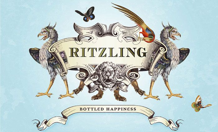 Ritzling - champagne logo