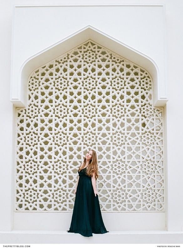 Dubai Architecture | Photography by Rensche Mari Photography | Dress by Silver Swallow
