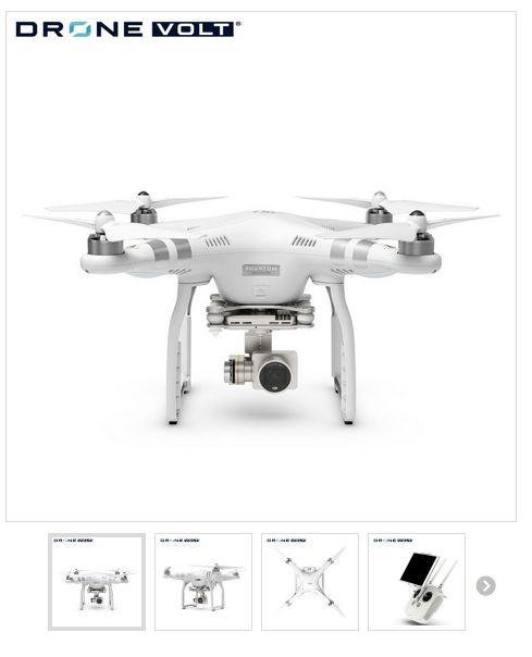 DJI Phantom 3 Advanced. Phantom 3 drone fra Dronevolt #DJI #DJI-drone #Phantom3 #Phantom3Advanced