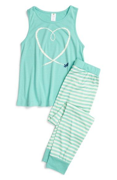 Tucker + Tate Two-Piece Pajamas (Little Girls & Big Girls) available at #Nordstrom