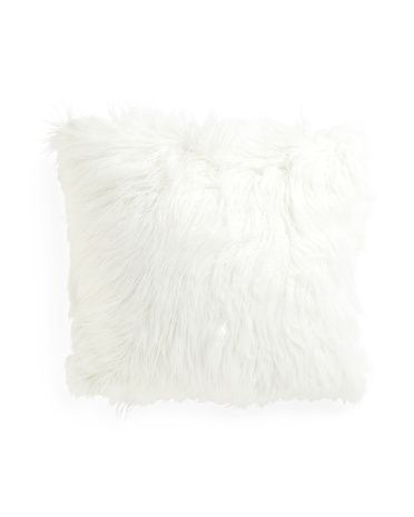 20x20+Faux+Mongolian+Fur+Pillow