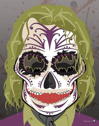 """Olá meu Pessegóide favorito. Hoje Titia Pêssega tá meio psicodélica das idéias e resolveu trazer para vocês as artes do ilustrador Mickel Yants fez com as famosas caveiras de açúcar, muito populares no México principalmente no dia 2 de Novembro quando se comemora o """"Dia... (Leia +)"""