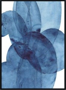 Plakat Blue Abstract