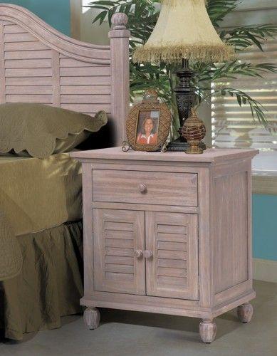 1 Drawer / 2 Door Nightstand | Bedroom - Tortuga