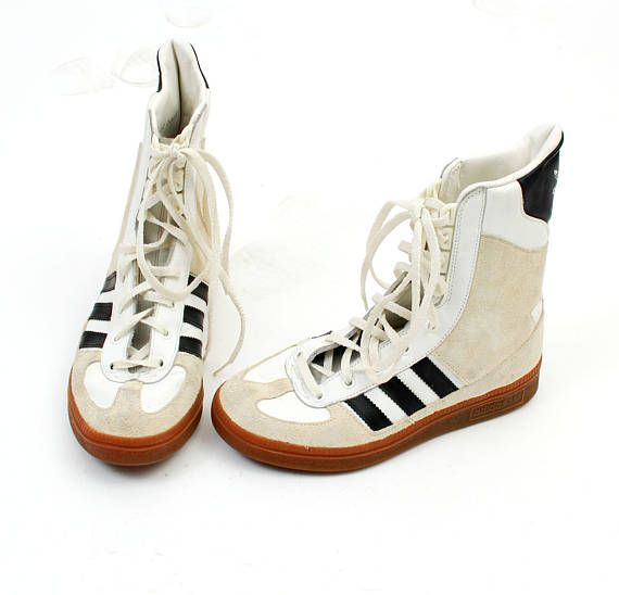 Vinatge ADIDAS Ankle Shoes / Adidas Sneakers / Adidas Boots /