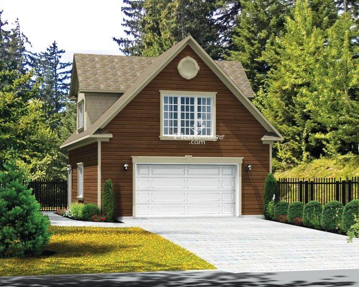 Avec sa grande fenêtre centrale et ses lucarnes en pignon de chaque côté, ce garage loft aura fière allure sur votre propriété. Le garage comprend une grande porte à l'avant, une fenêtre de chaque côté ainsi qu'une porte de service.<br/> À l'étage, le loft comporte un espace pour la laveuse et la sécheuse, une cuisine, un salon et une salle à manger à aire ouverte, ainsi qu'une chambre avec un vaste placard et un accès direct à la salle de bains.