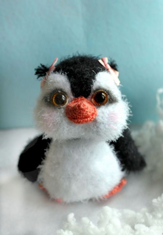 MADE to ORDER Penguin stuffed Toy penguin Amigurumi Toy