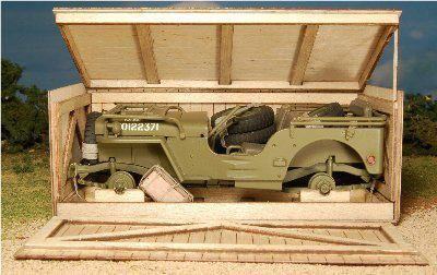 Wish some would give me a present like this Jeep Willys some assembly required
