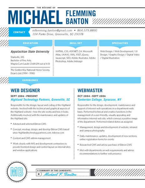 52 best Contemporary Resumes images on Pinterest Resume ideas