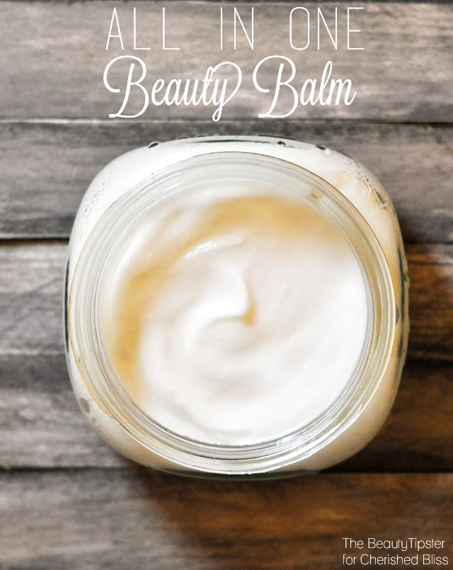 DIY All in One Beauty Balm - Additionally, to make this product you only need two simple ingredients: coconut oil and sweet almond oil.