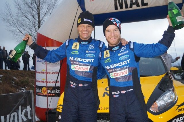 Østberg med seier i Rally Finnskog 2016