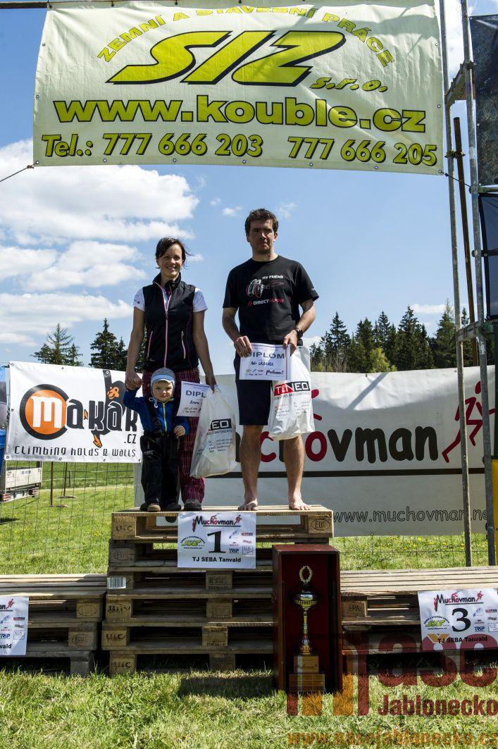 XIII. ročník adrenalinového závodu Muchovman<br />Autor: Antonín Bělonožník