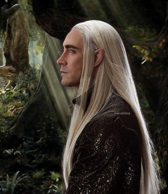 The Elven King, Thranduil in Mirkwood