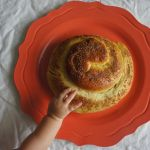 Kveller Balsamic Apple Date Challah for Rosh Hashanah
