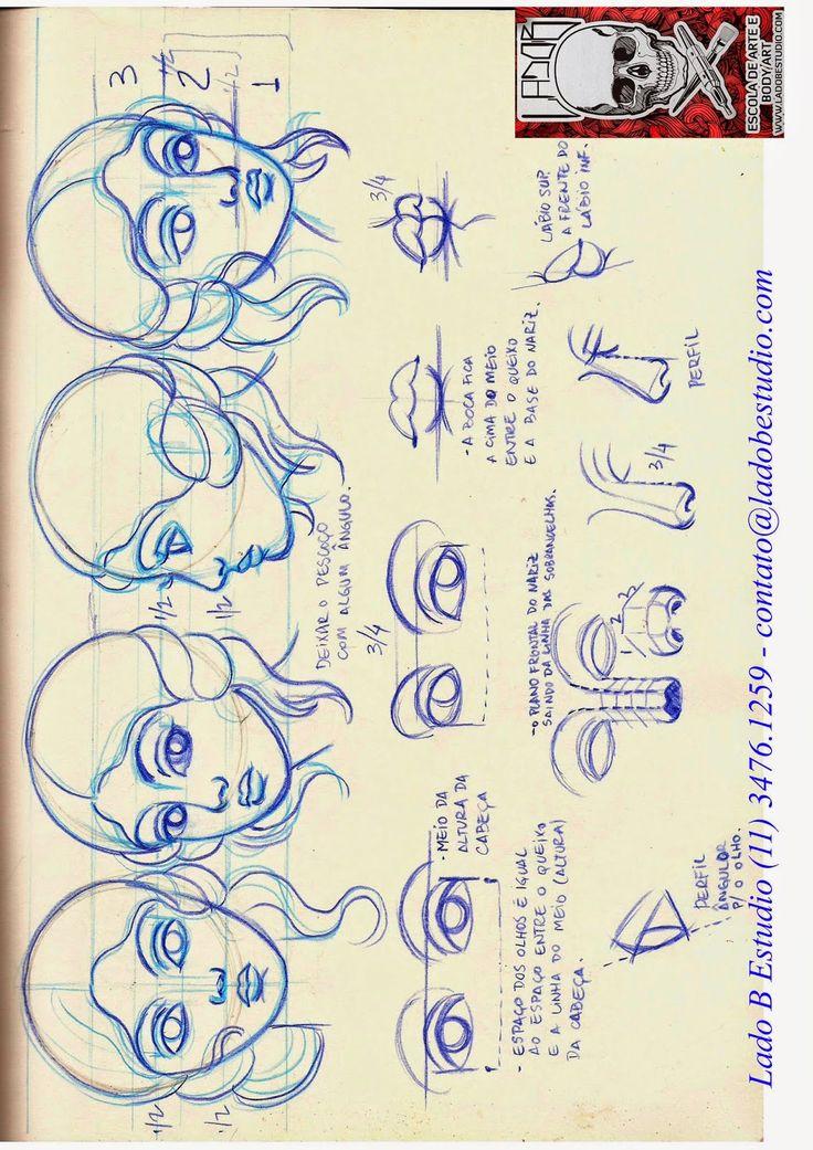 André Rodrigues Tattoo: Desenhos que vão ajudar nas suas Tattoos (Se trein...