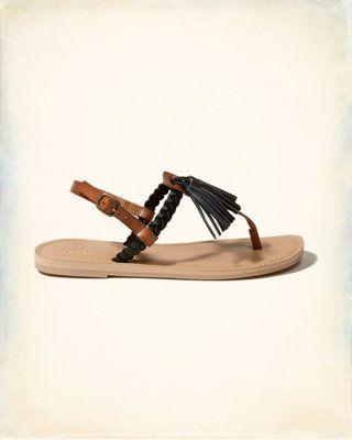 Sandales style Salomé à pampille
