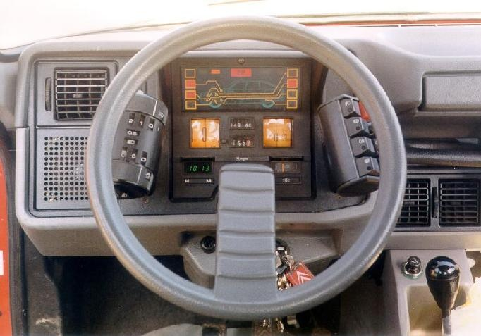 Citroën GSA dashboard
